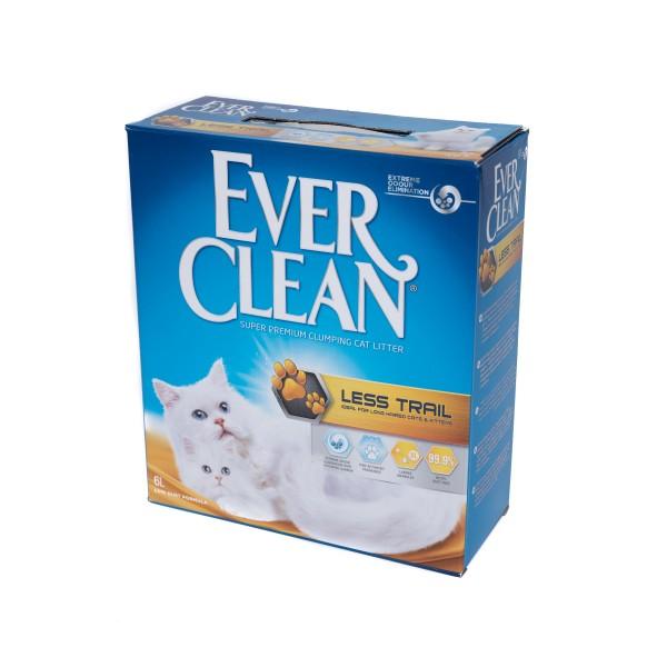 Nisip litieră EVER CLEAN LESS TRAIL – pentru pisici cu blană lungă