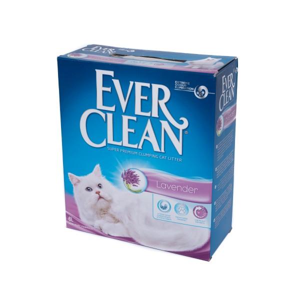 Nisip litieră EVER CLEAN LAVENDER – parfum de lavandă