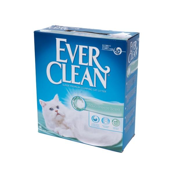 Nisip litieră EVER CLEAN AQUA BREEZE – parfum de briză marină