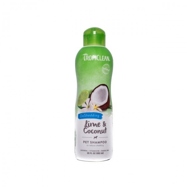 Şampon TROPICLEAN LIME & COCONUT – Reduce căderea părului