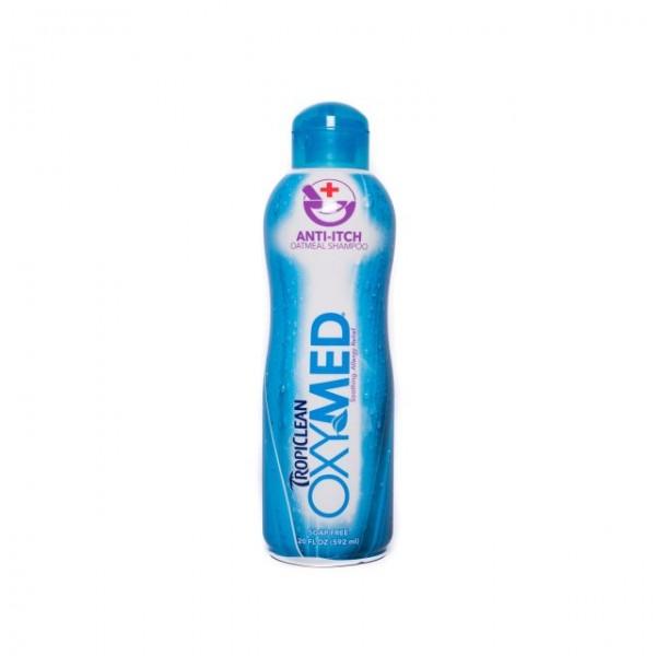 Şampon adjuvant anti prurit TROPICLEAN OXYMED ANTI ITCH