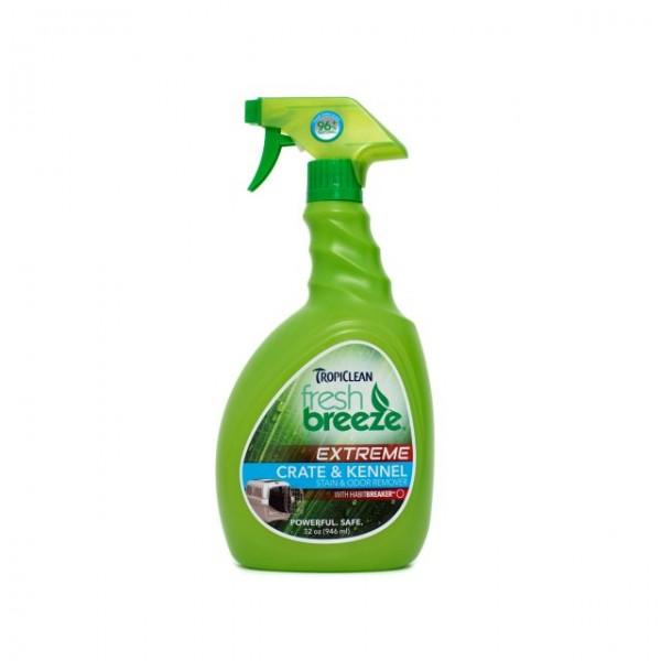 Spray pentru adăposturi şi zona de locuit TROPICLEAN FRESH BREEZE CRATE & KENNEL