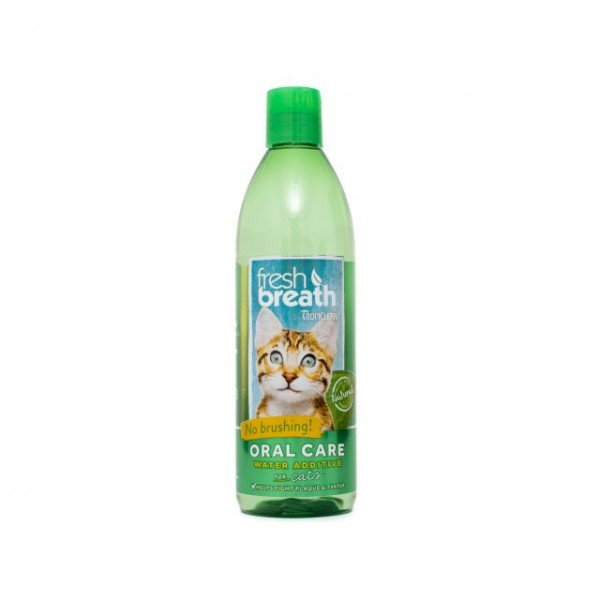 Aditiv pentru apă respiraţie proaspătă pentru pisici TROPICLEAN FRESH BREATH FOR CATS