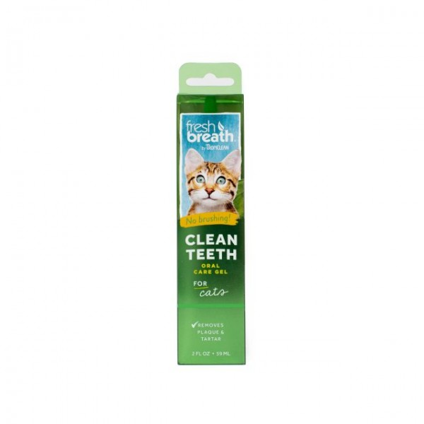 Gel dentar fără periaj pentru pisici TROPICLEAN FRESH BREATH GEL FOR CATS
