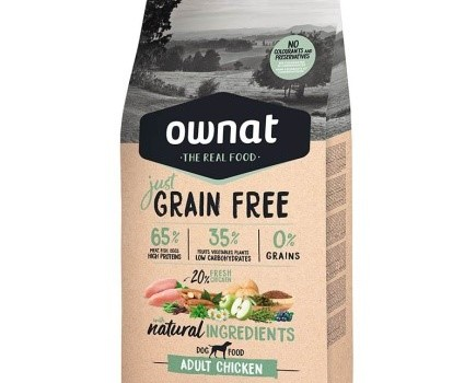 OWNAT JUST GRAIN FREE CHICKEN ADULT CAT