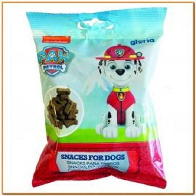 Recompense pentru câini PAW PATROL – MARSHALL- ŞUNCĂ SERRANO- punga 75 g