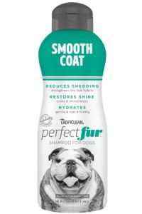Sampon PERFECTFUR™ Smooth Coat by Tropiclean (Bulldogs, Boxer, Pit-Bull Terrier, Ogari și rase cu par scurt)