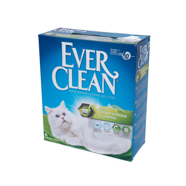 Nisip litieră EVER CLEAN EXTRA STRONG CLUMPING PARFUMAT