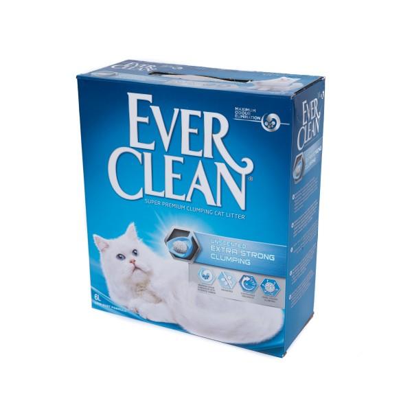 Nisip litieră EVER CLEAN NISIP EXTRA STRONG CLUMPING FĂRĂ PARFUM