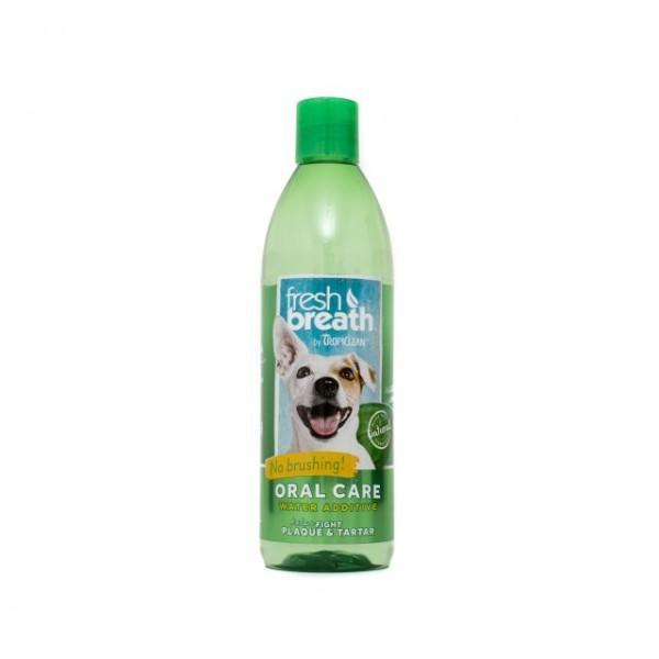 Aditiv pentru apă respiraţie proaspătă pentru  câini TROPICLEAN FRESH BREATH