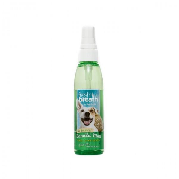 Spray respiraţie proaspătă cu aromă de vanilie şi mentă FRESH BREATH VANILLA MINT ORAL CARE SPRAY
