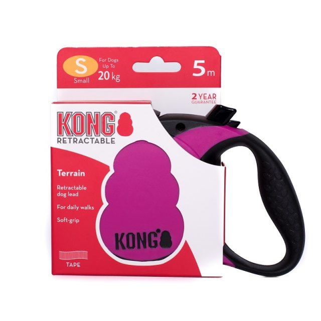 Lesă retractabilă KONG® Retractable Terrain