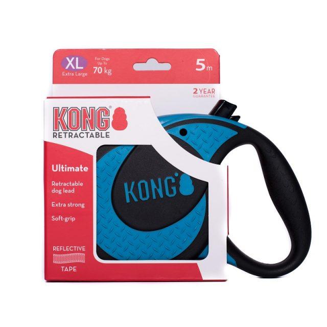 Lesă retractabilă KONG® Retractable Ultimate