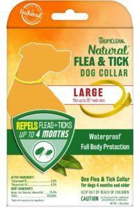 Zgardă Tropiclean Flea and Tick Large Dog – pentru câini de talie mare