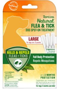 Pipetă Flea & Tick – Large Dog Spot On Treatment – 3 buc.  – pentru câini de talie mare