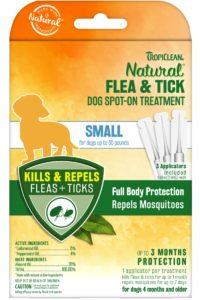 Pipetă Flea & Tick – Small Dog Spot On Treatment – 3 buc. – pentru câini de talie mică