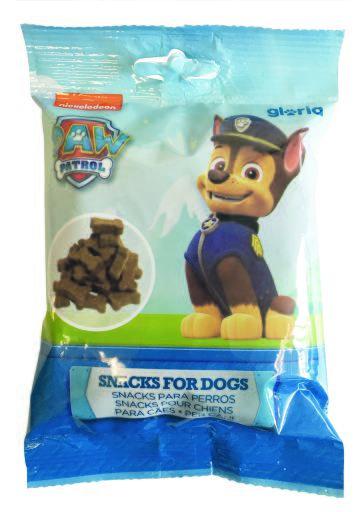 Recompense pentru câini PAW PATROL  – CHASE – cu PUI –  75 g