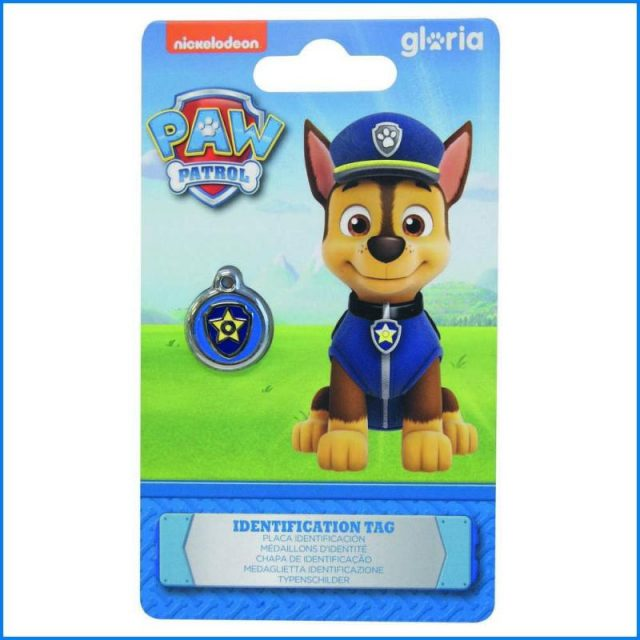 Medalion de identificare PAW PATROL –  CHASE