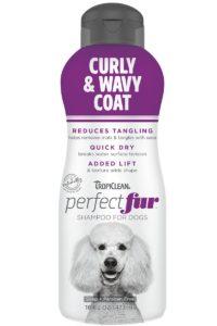 Sampon PERFECTFUR™ by TROPICLEAN Curly & Wavy Coat by Tropiclean (Pudel, Bichons Frises, Old Shepdogs și rase cu blană cu volum)