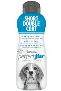 Sampon PERFECTFUR™ Short Double Coat by Tropiclean (Labrador, Pug, Beagle, Rottweiler și rase cu blană scurta in doua straturi)